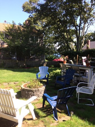Harwich Cape Cod vacation rental - Fire pit