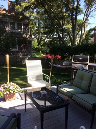Harwich Cape Cod vacation rental - Relax in the yard