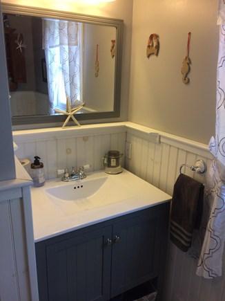 Harwich Cape Cod vacation rental - Downstairs bathroom