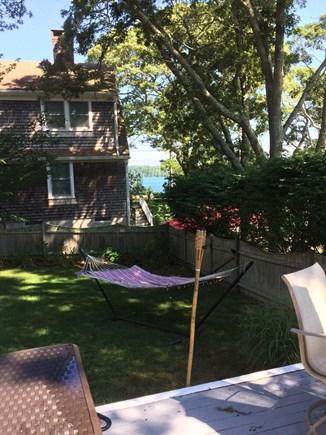 Harwich Cape Cod vacation rental - Backyard with hammock