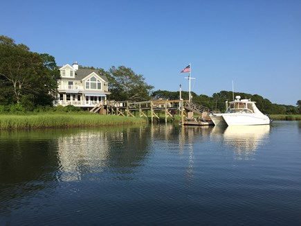 New Seabury, Daniels Island New Seabury vacation rental - View of house from the water