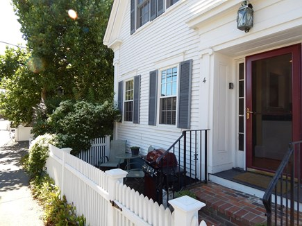 Provincetown Cape Cod vacation rental - Front Garden Patio/Entry
