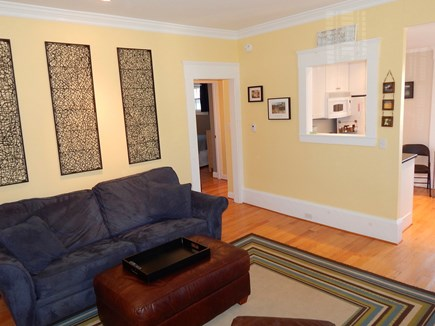 Provincetown Cape Cod vacation rental - Living room / Kitchen Opening