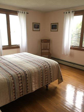 Falmouth, New Silver  Cape Cod vacation rental - Sunny bedroom #2 with queen bed, first floor