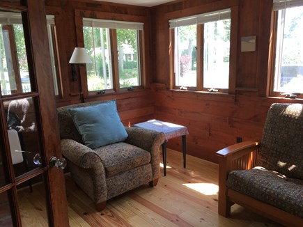 Falmouth, New Silver  Cape Cod vacation rental - Sun room for reading, yoga, or just to get away