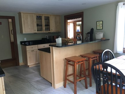 Falmouth, New Silver  Cape Cod vacation rental - Fully equipped kitchen with breakfast bar