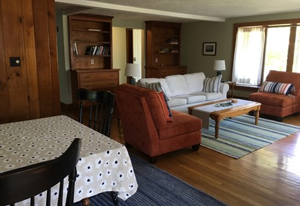 Falmouth, New Silver  Cape Cod vacation rental - Spacious open living and dining area