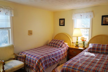South Yarmouth Cape Cod vacation rental - Bedroom with two Twin Beds