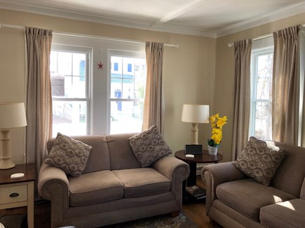 Falmouth Heights Cape Cod vacation rental - Bright and sunny living room.