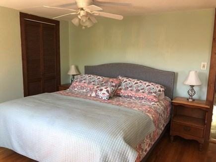Falmouth Heights Cape Cod vacation rental - Bedroom #2: King bed.