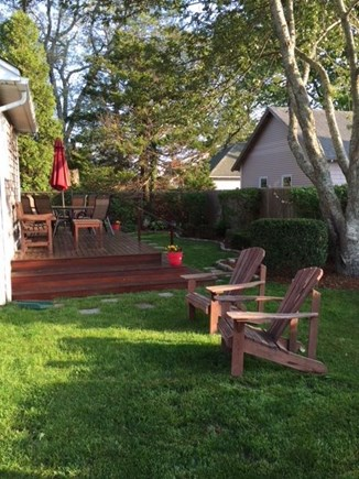 Falmouth Heights Cape Cod vacation rental - Have a BBQ on the back deck or just relax in the sun.