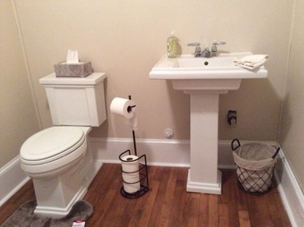 Falmouth Heights Cape Cod vacation rental - Half bath on the first floor. Plus, an outside shower too.