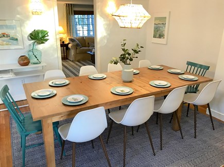 Dennis Port Cape Cod vacation rental - Dining room with seating for up to 12 with another leaf