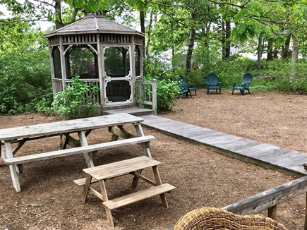 Dennis Port Cape Cod vacation rental - Gazebo and picnic tables to enjoy