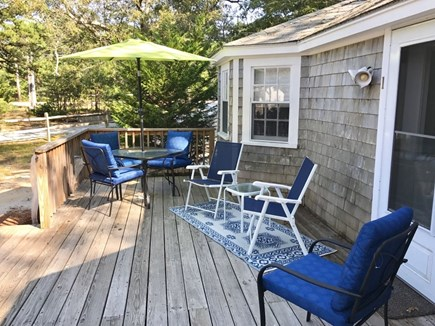 Wellfleet Cape Cod vacation rental - Grill up dinner and relax on the front patio.