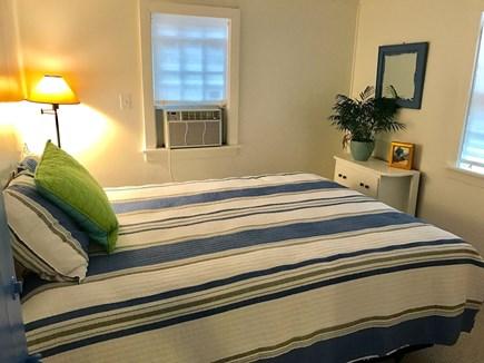 Wellfleet Cape Cod vacation rental - Master bedroom has a queen and window A/C.