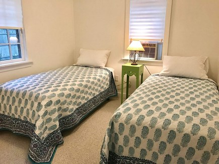Wellfleet Cape Cod vacation rental - Second bedroom has two twins and a window A/C.