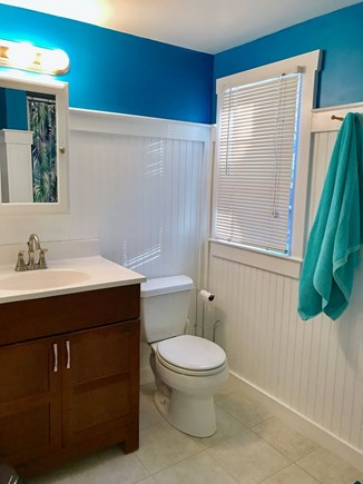 Wellfleet Cape Cod vacation rental - Bathroom with shower.