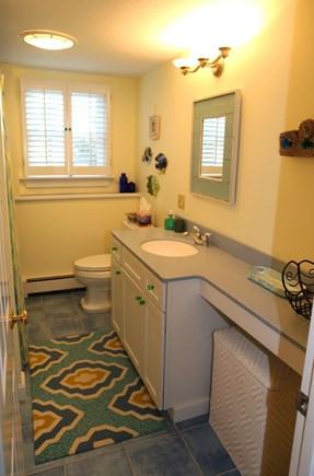 East Sandwich Cape Cod vacation rental - Full Bath with tub/shower on lower level.