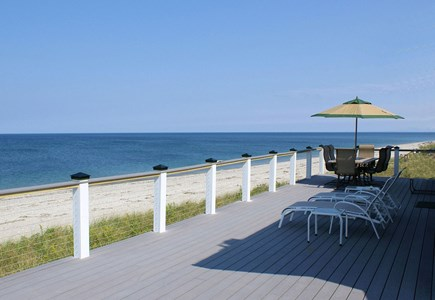 East Sandwich Cape Cod vacation rental - Gorgeous views from the deck.