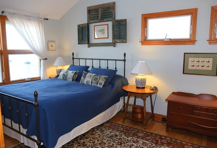 East Sandwich Cape Cod vacation rental - Master Bedroom on 1st Floor with Queen and ocean views.