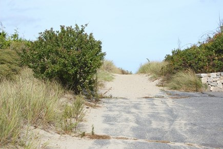 Sagamore Beach, Bourne Sagamore Beach vacation rental - Pathway through the dunes to the beach, located across the street