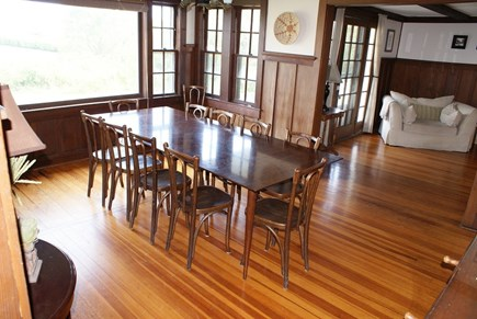 Sagamore Beach, Bourne Sagamore Beach vacation rental - Dining area off the Living area.
