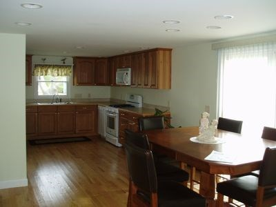 South Yarmouth Cape Cod vacation rental - Spacious kitchen fully equipped.