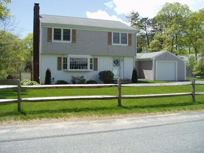 South Yarmouth Cape Cod vacation rental - Front view of house