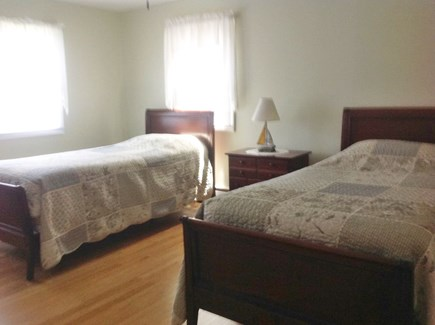 South Yarmouth Cape Cod vacation rental - Upstairs bedroom with twin beds