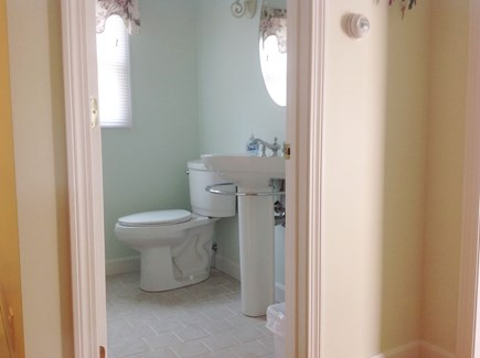 South Yarmouth Cape Cod vacation rental - First floor half bathroom