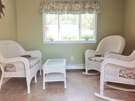 South Yarmouth Cape Cod vacation rental - Entry sitting room