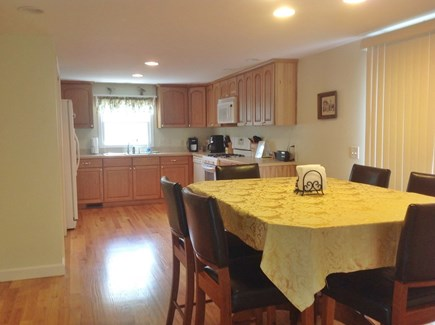 South Yarmouth Cape Cod vacation rental - Kitchen and dining area
