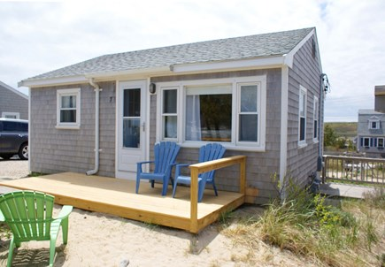 East Sandwich Cape Cod vacation rental - Front view of Anchor Cottage.