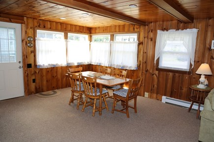 Sandwich Cape Cod vacation rental - Dining table off Kitchen area.