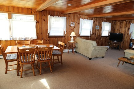 Sandwich Cape Cod vacation rental - Dining area opens to Living area