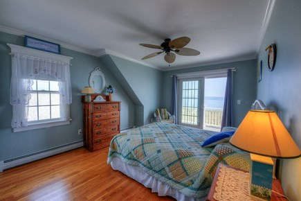 East Sandwich Cape Cod vacation rental - Ocean views & access to balcony from both 2nd Floor Bedrooms.