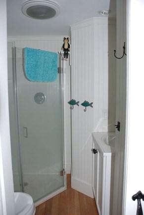 Eastham Cape Cod vacation rental - Clean, white bathroom