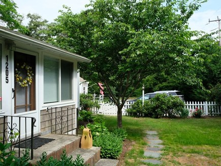 Eastham Cape Cod vacation rental - Front entrance near plenty of parking