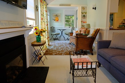 Eastham Cape Cod vacation rental - Open concept living area