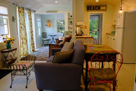 Eastham Cape Cod vacation rental - Spacious dining/living room