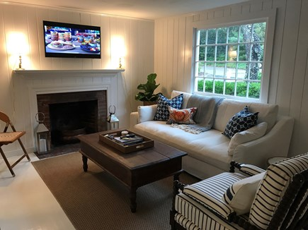 Chatham Cape Cod vacation rental - Charming Living Room with TV