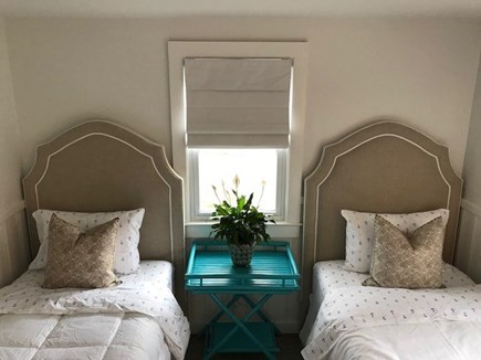 Chatham Cape Cod vacation rental - Twin bedroom.  Still working on the finally touches of the decor!