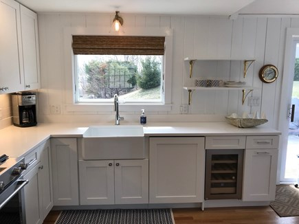 Chatham Cape Cod vacation rental - Kitchen with water view.