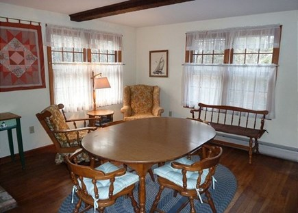 North Eastham Cape Cod vacation rental - Dining room/Den