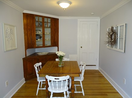 harwich Cape Cod vacation rental - Dining room, opens to living room