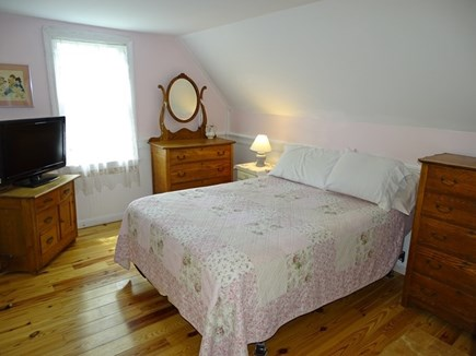 harwich Cape Cod vacation rental - Bedroom 1 with double bed, flat screen TV