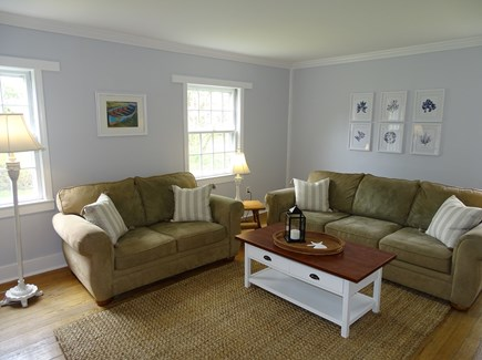 harwich Cape Cod vacation rental - Newly painted living room
