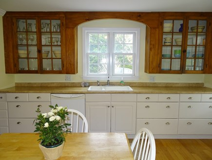 harwich Cape Cod vacation rental - Large eat-in kitchen