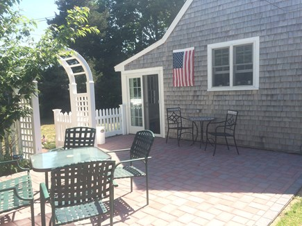harwich Cape Cod vacation rental - Back yard patio area